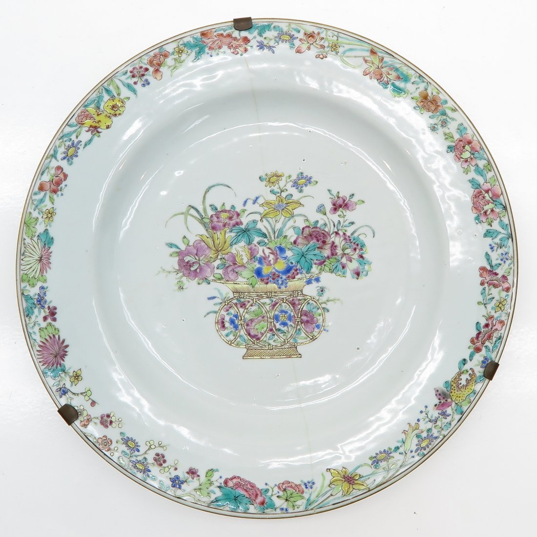 19th Century China Porcelain Plate