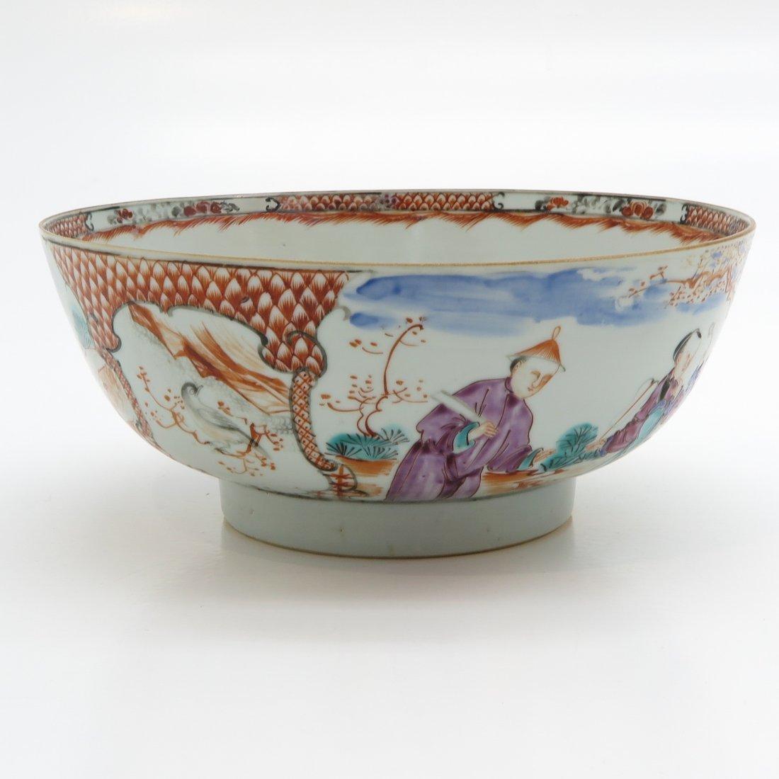 China Porcelain Mandarin Decor Bowl