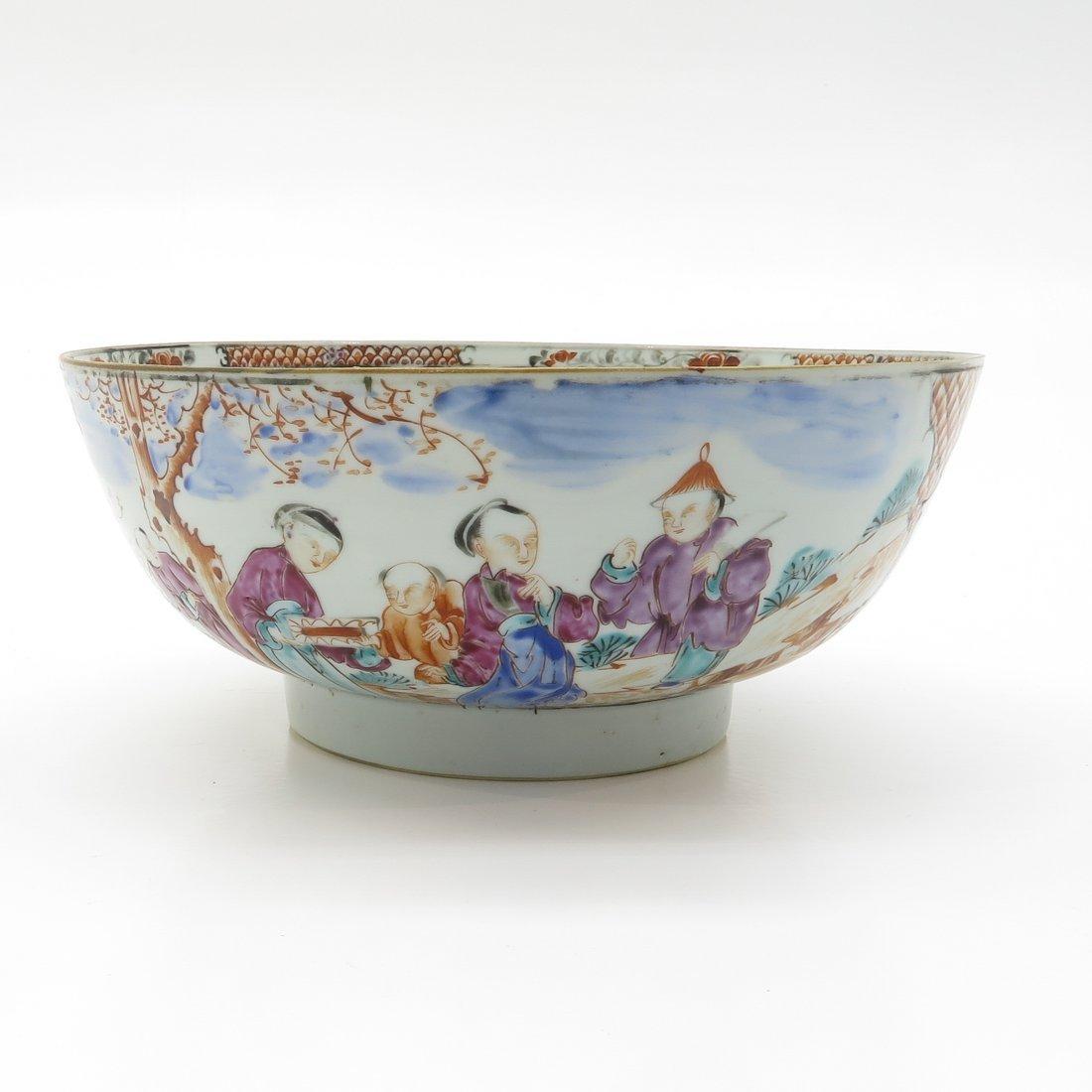 China Porcelain Mandarin Decor Bowl - 4