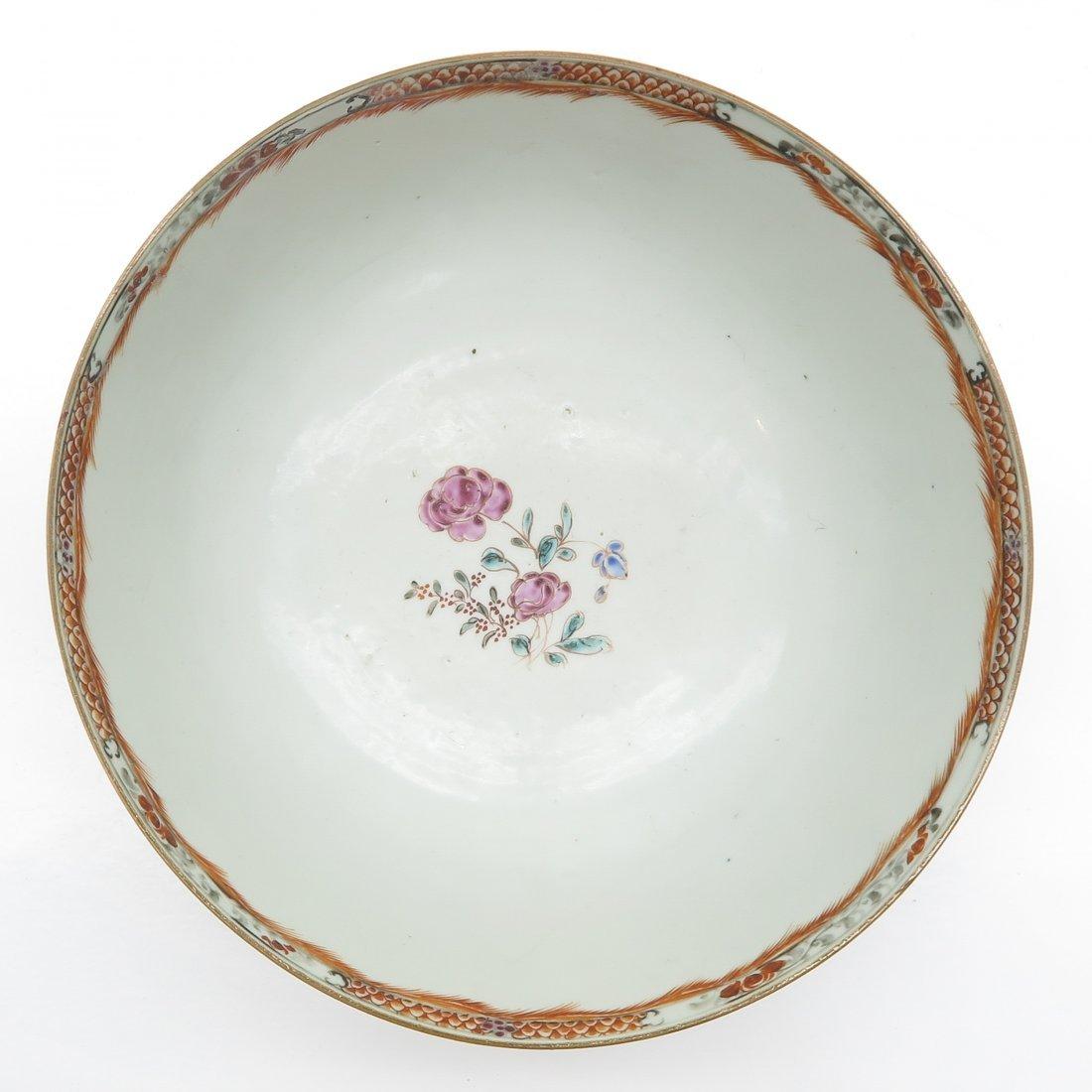 China Porcelain Mandarin Decor Bowl - 5