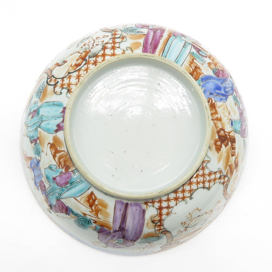 China Porcelain Mandarin Decor Bowl - 6