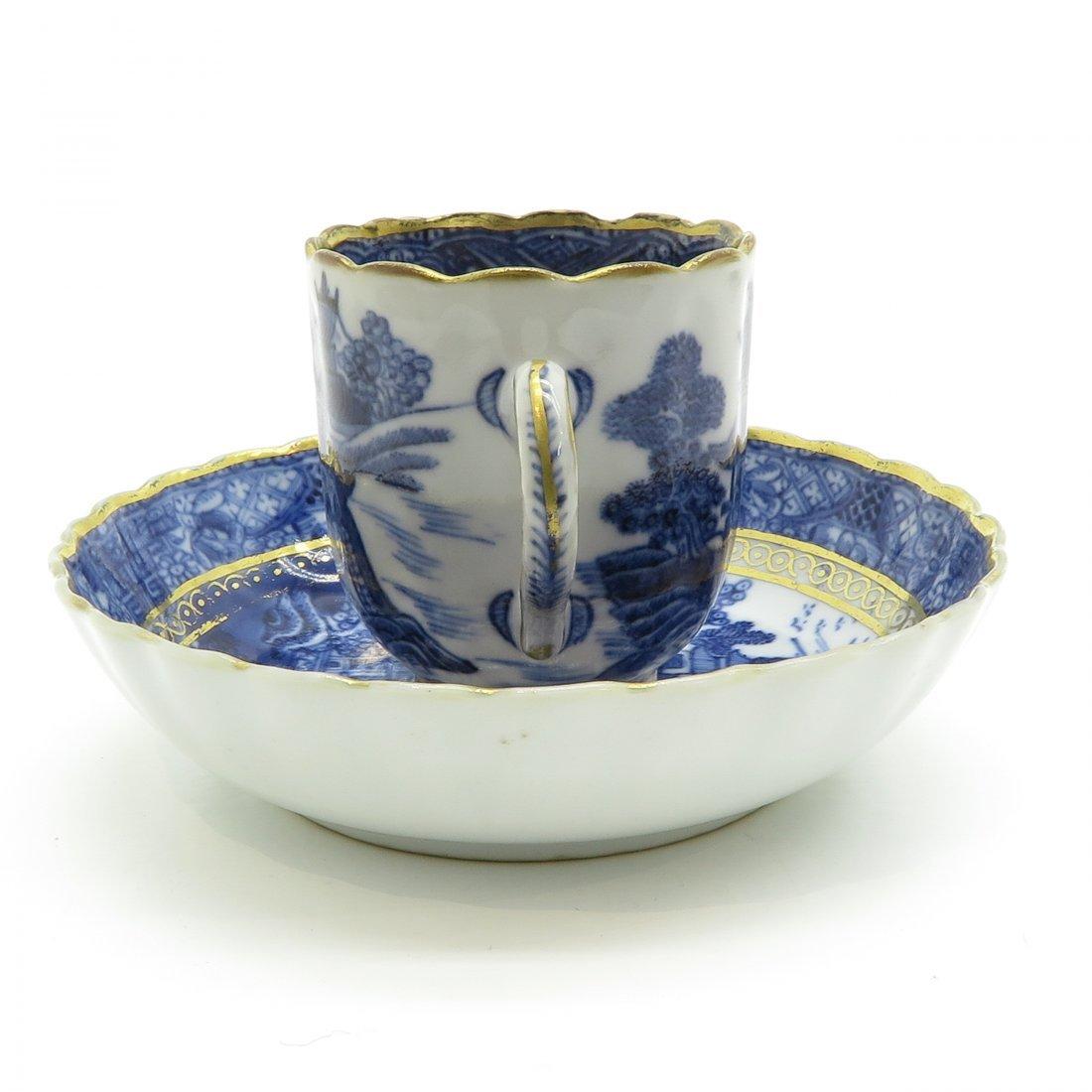 China Porcelain Cup and Saucer Circa 1800 - 2