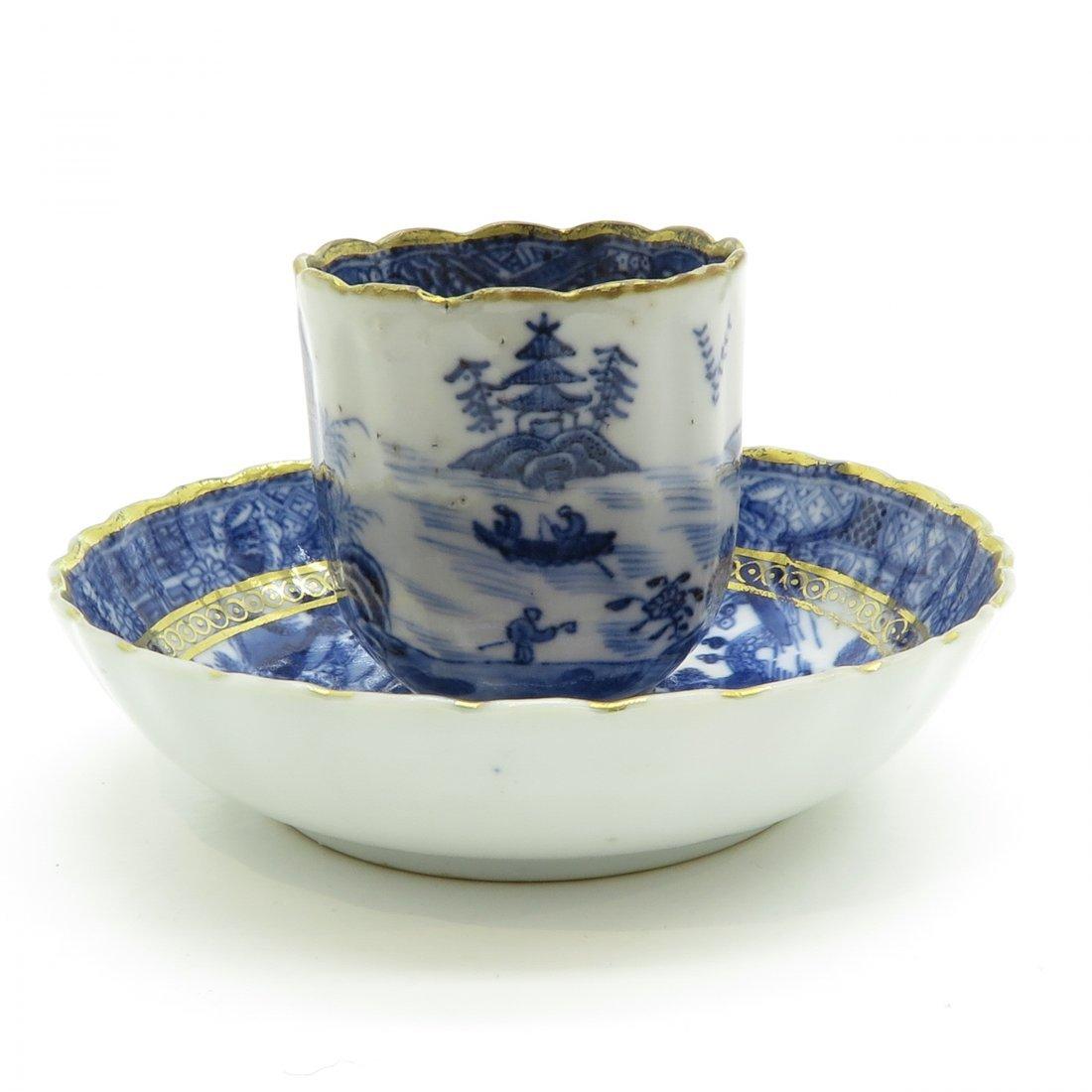 China Porcelain Cup and Saucer Circa 1800 - 4