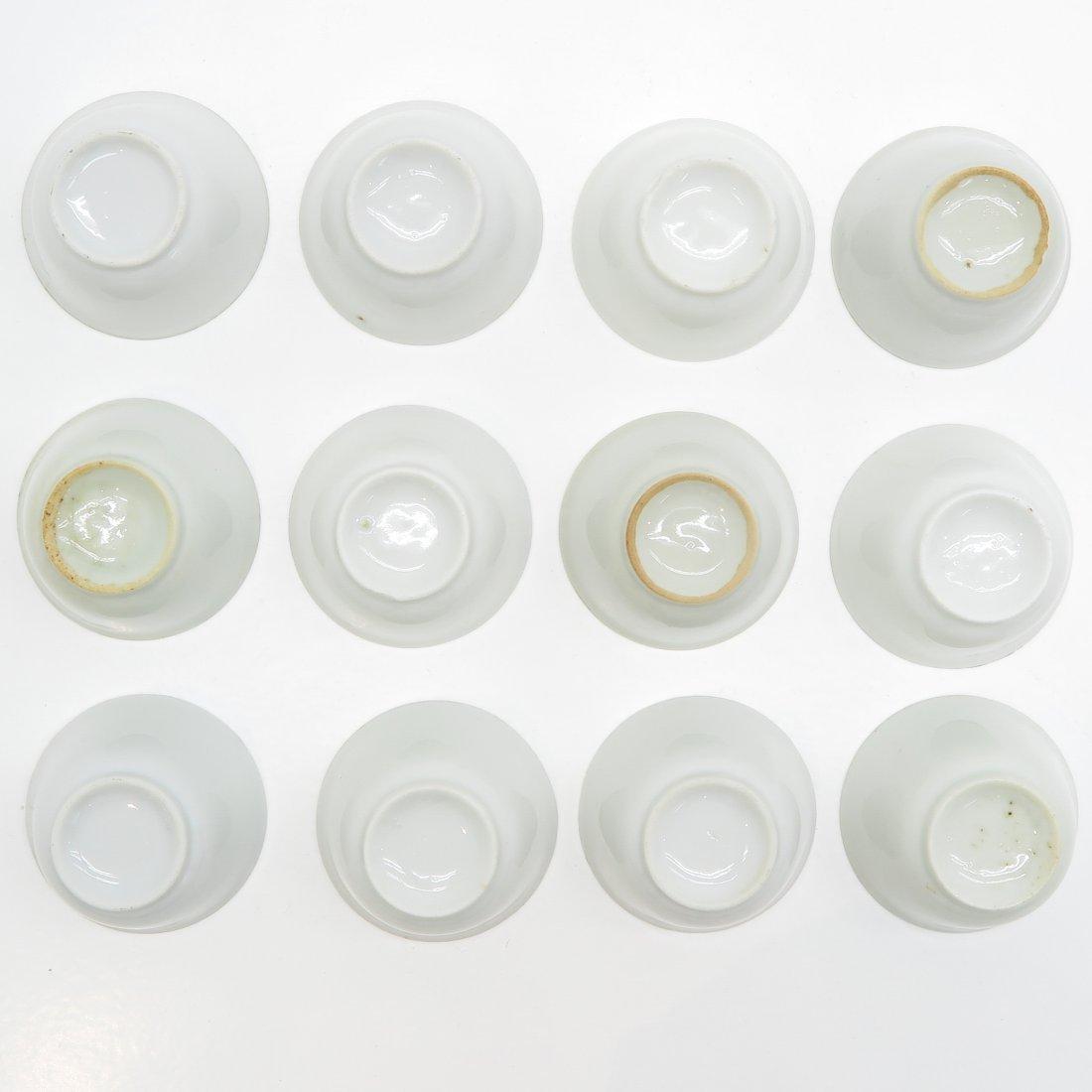 18th Century Blanc de Chine Small Bowls - 3