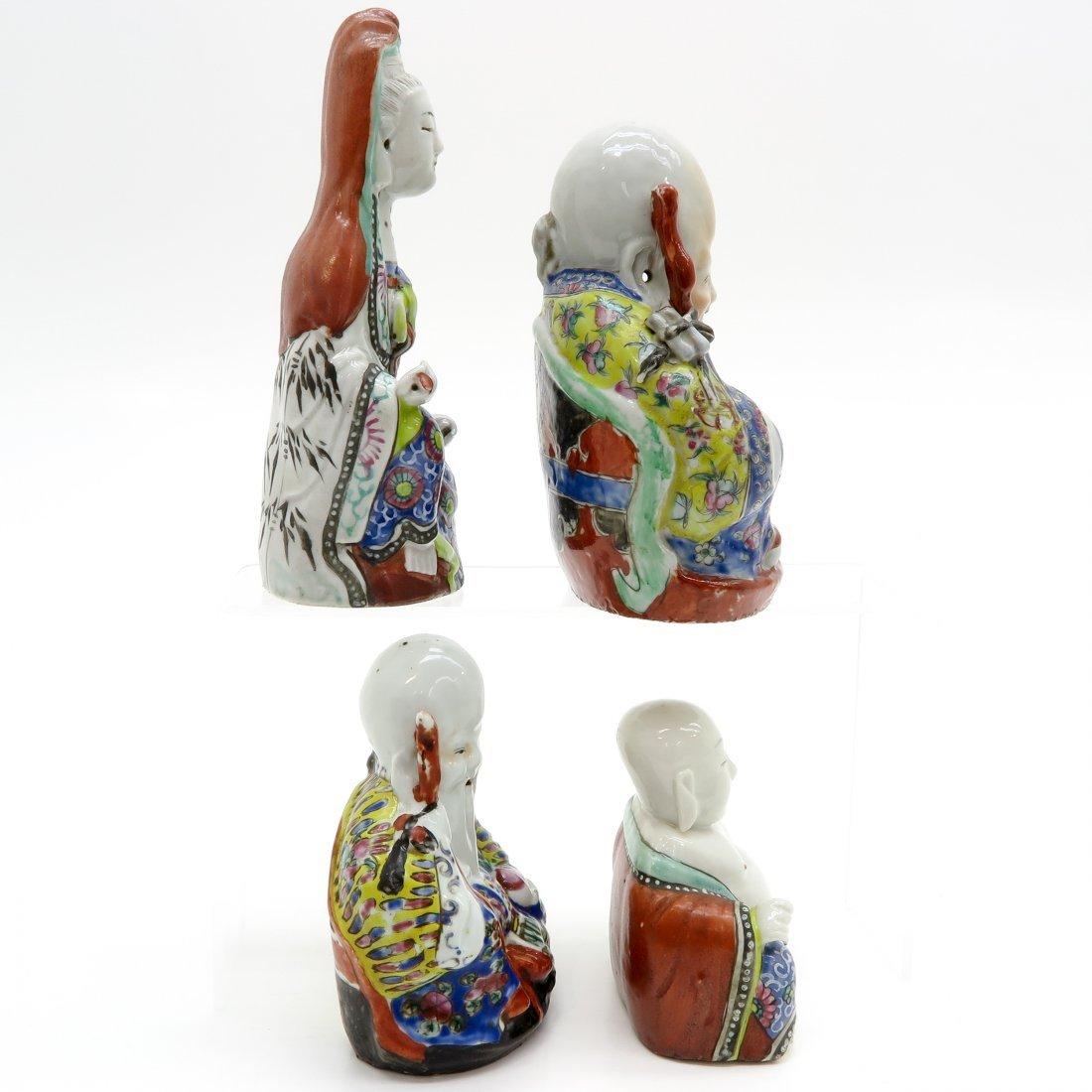 Loto f 4 China Porcelain Sculptures - 4