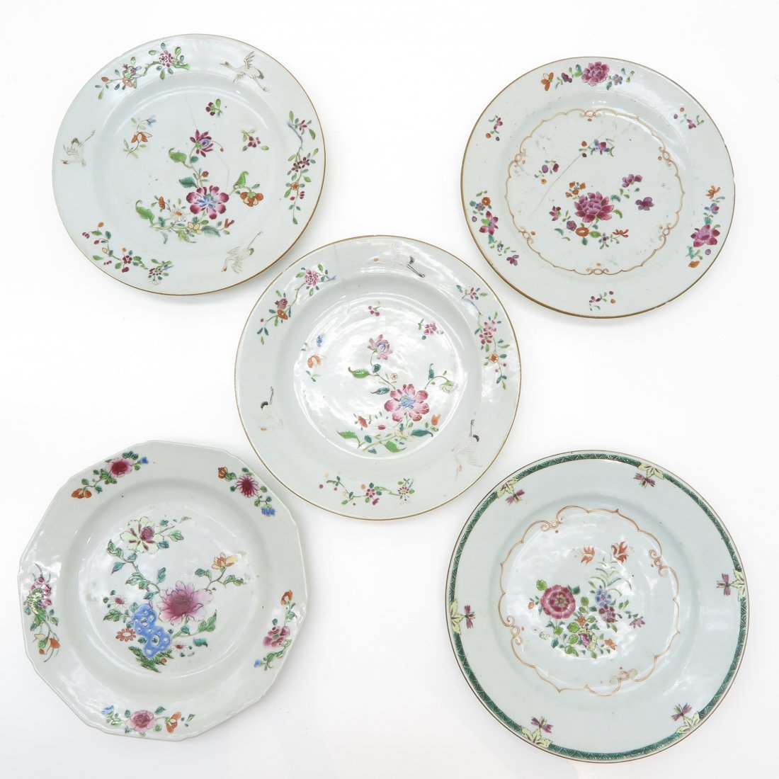 China Porcelain 18th Century Plate