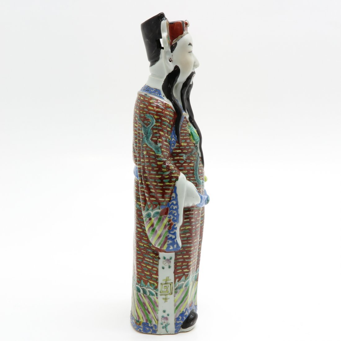 Chinese Porcelain Sculpture - 4