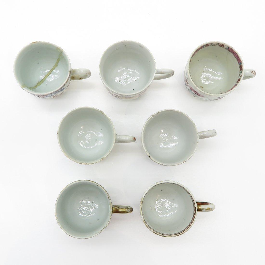 Lot of Mandarin Decor China Porcelain Cups - 2