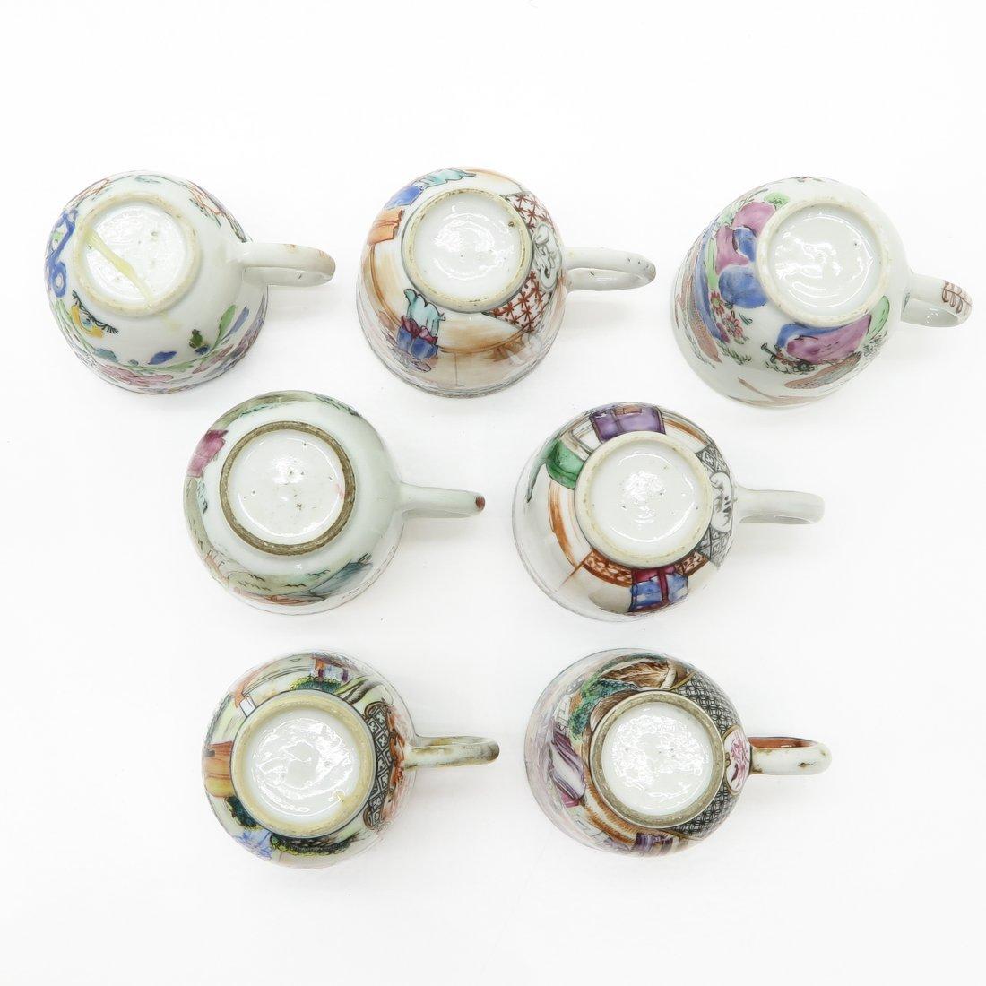 Lot of Mandarin Decor China Porcelain Cups - 3