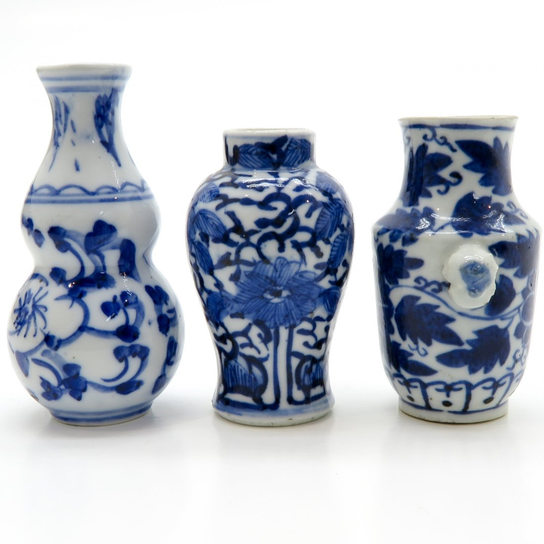 Lot of China Porcelain Miniature Vases - 2