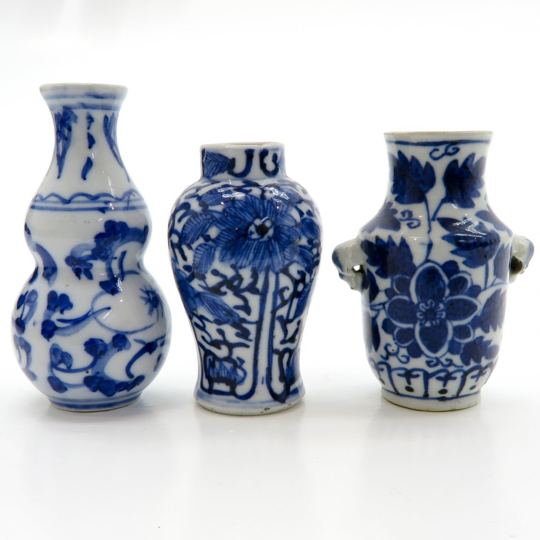 Lot of China Porcelain Miniature Vases - 3