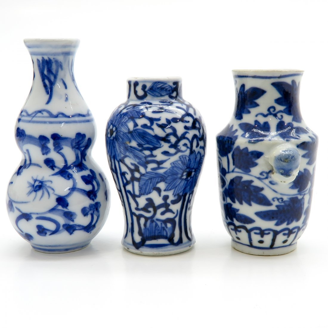 Lot of China Porcelain Miniature Vases - 4