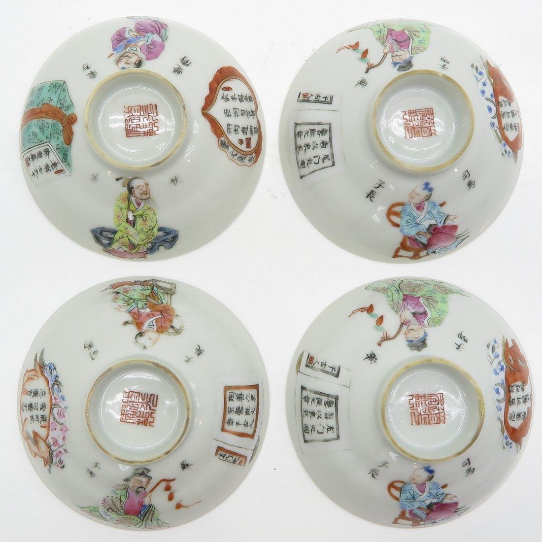 Lot of 19th Century Wu Shuang Pu Decor Items