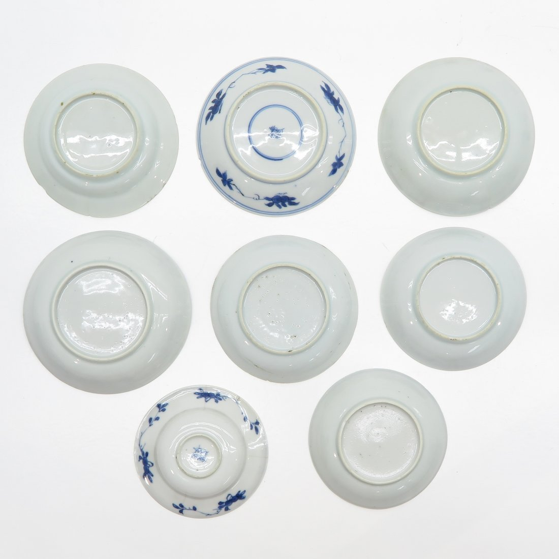 Lot of 18th Century China Porcelain Saucers - 2
