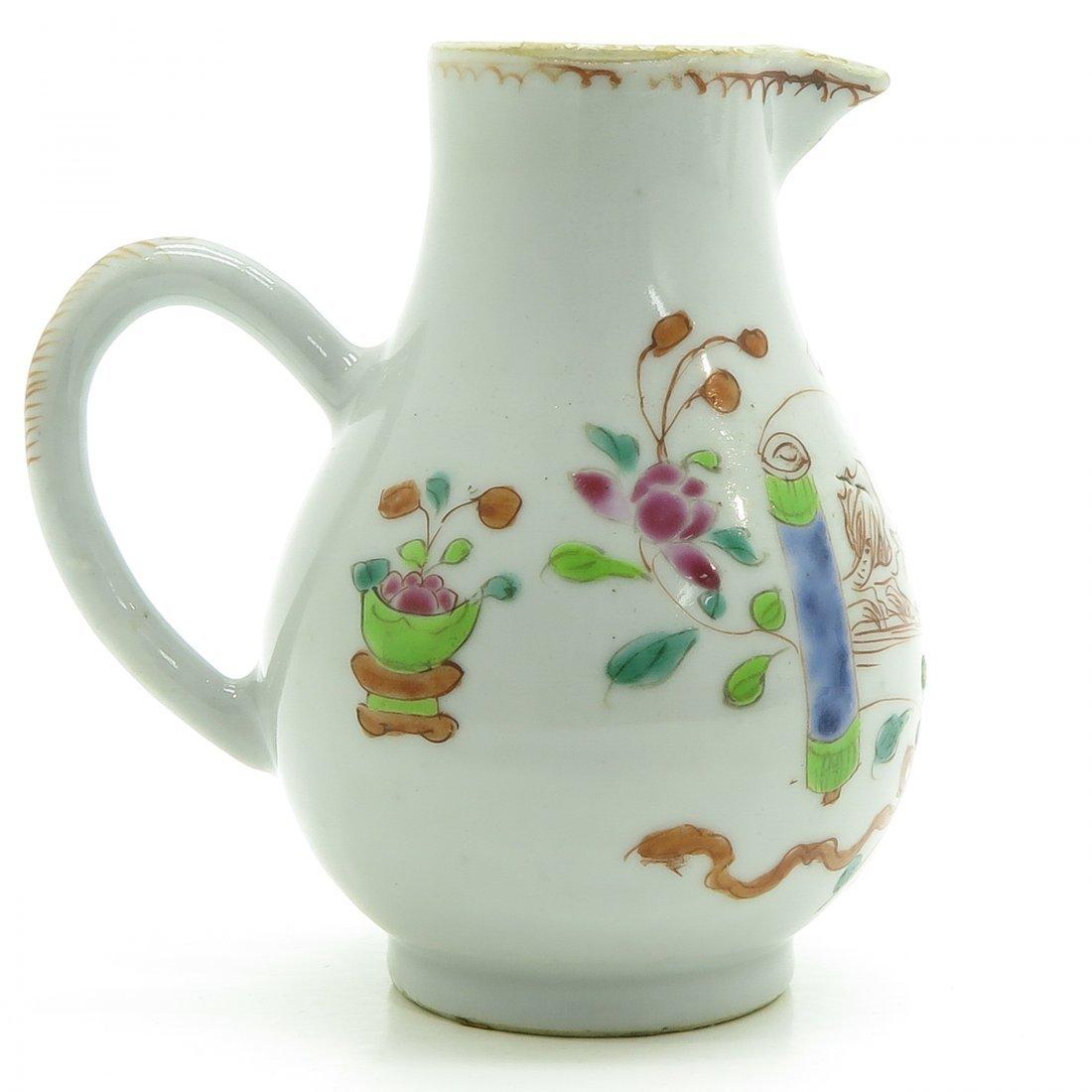 China Porcelain Pitcher Circa 1800 - 3