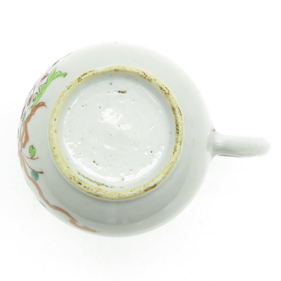 China Porcelain Pitcher Circa 1800 - 6