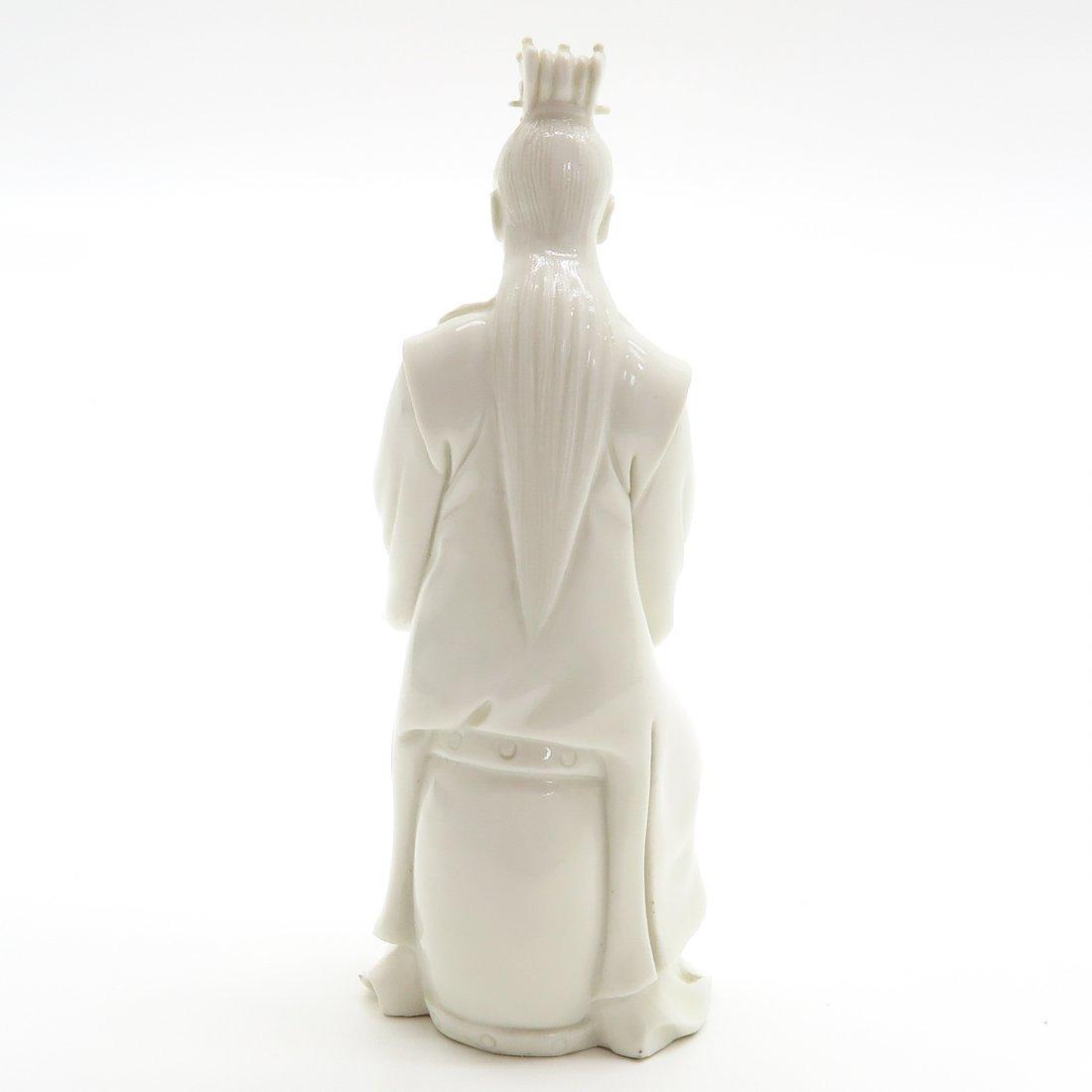 Blanc de China Sculpture - 3