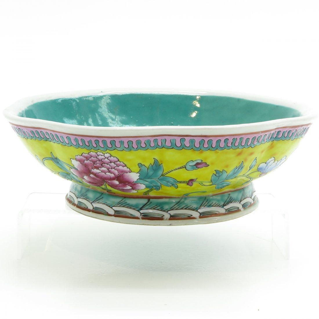 China Porcelain Footed Bowl