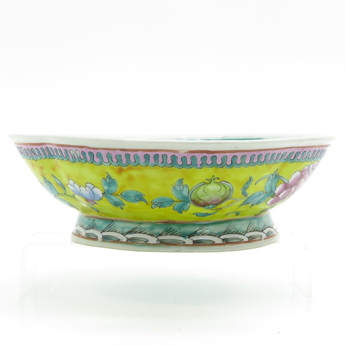 China Porcelain Footed Bowl - 2