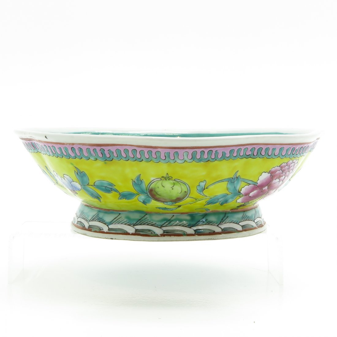 China Porcelain Footed Bowl - 4