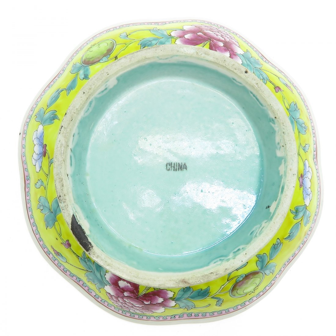 China Porcelain Footed Bowl - 6