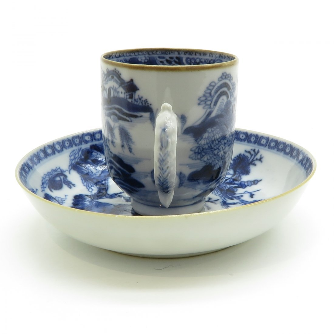 China Porcelain Cup and Saucer Circa 1800 - 2