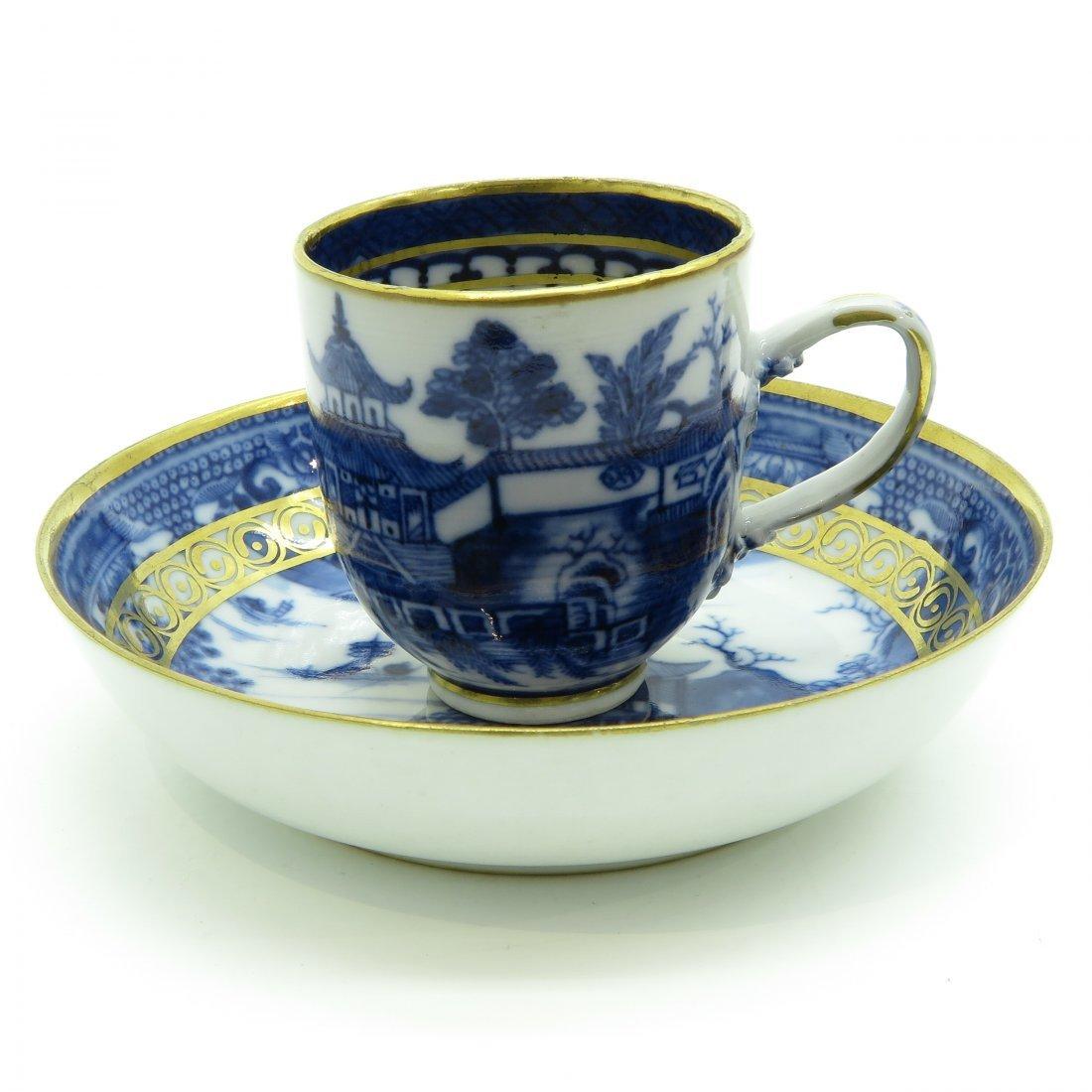 China Porcelain Cup and Saucer Circa 1800