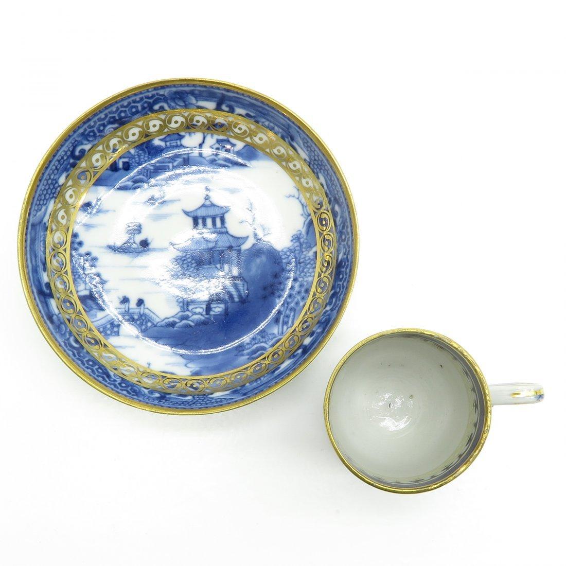 China Porcelain Cup and Saucer Circa 1800 - 5
