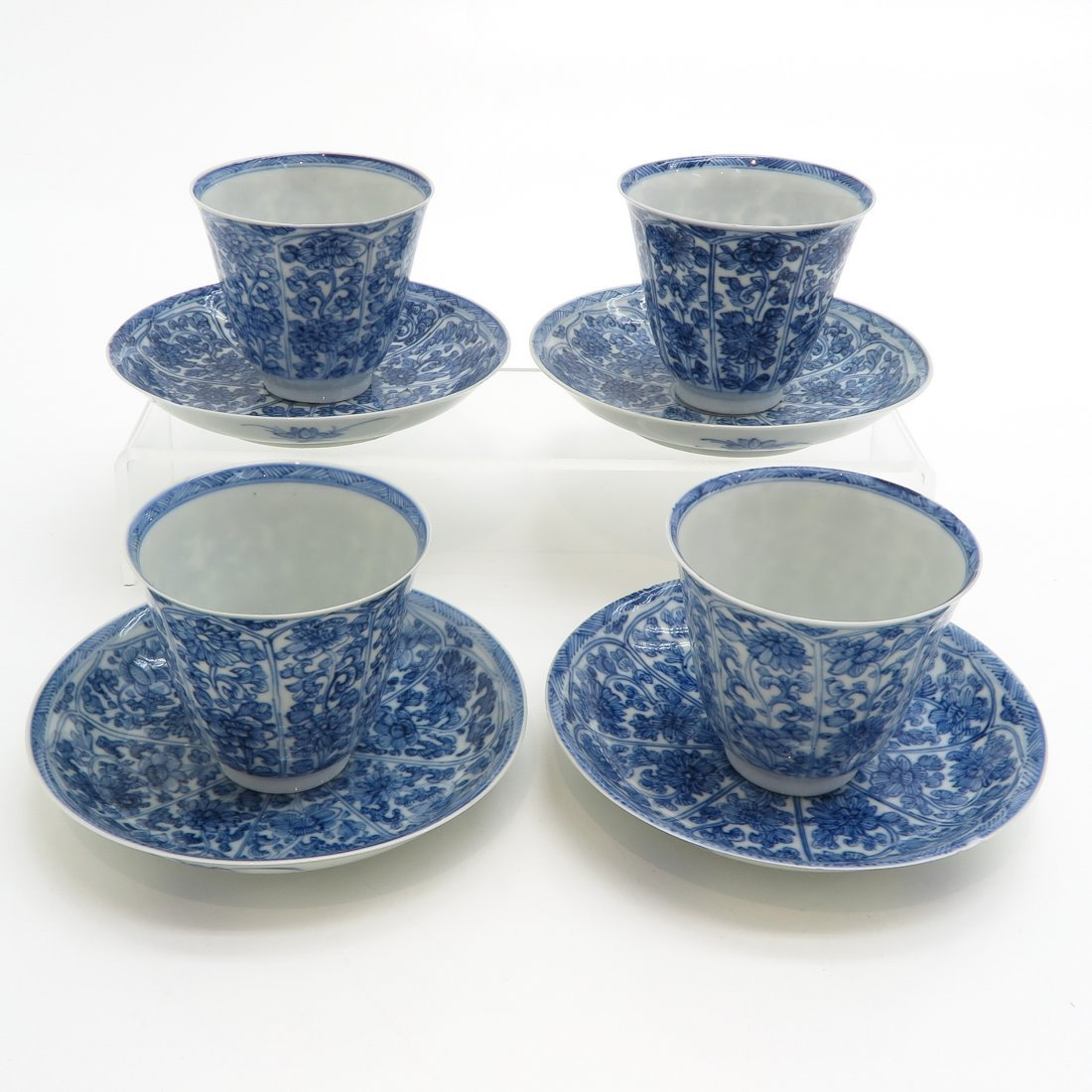 China Porcelain Cups and Saucers