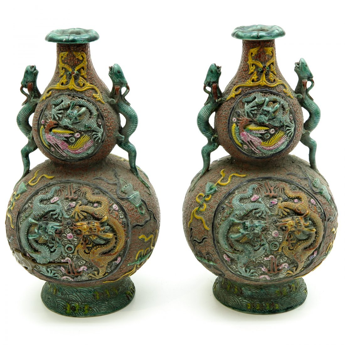 Lot of 19th Century China Porcelain Vases