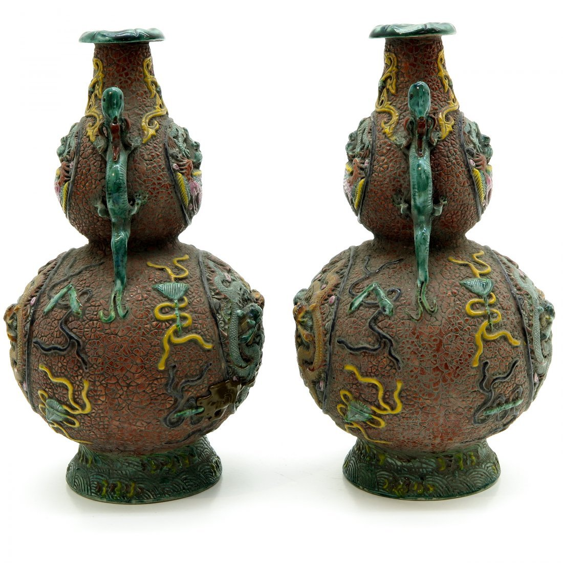 Lot of 19th Century China Porcelain Vases - 4