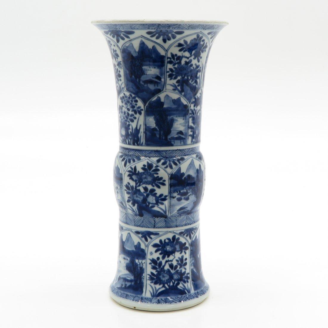 China Porcelain Kangxi Period Vase - 2