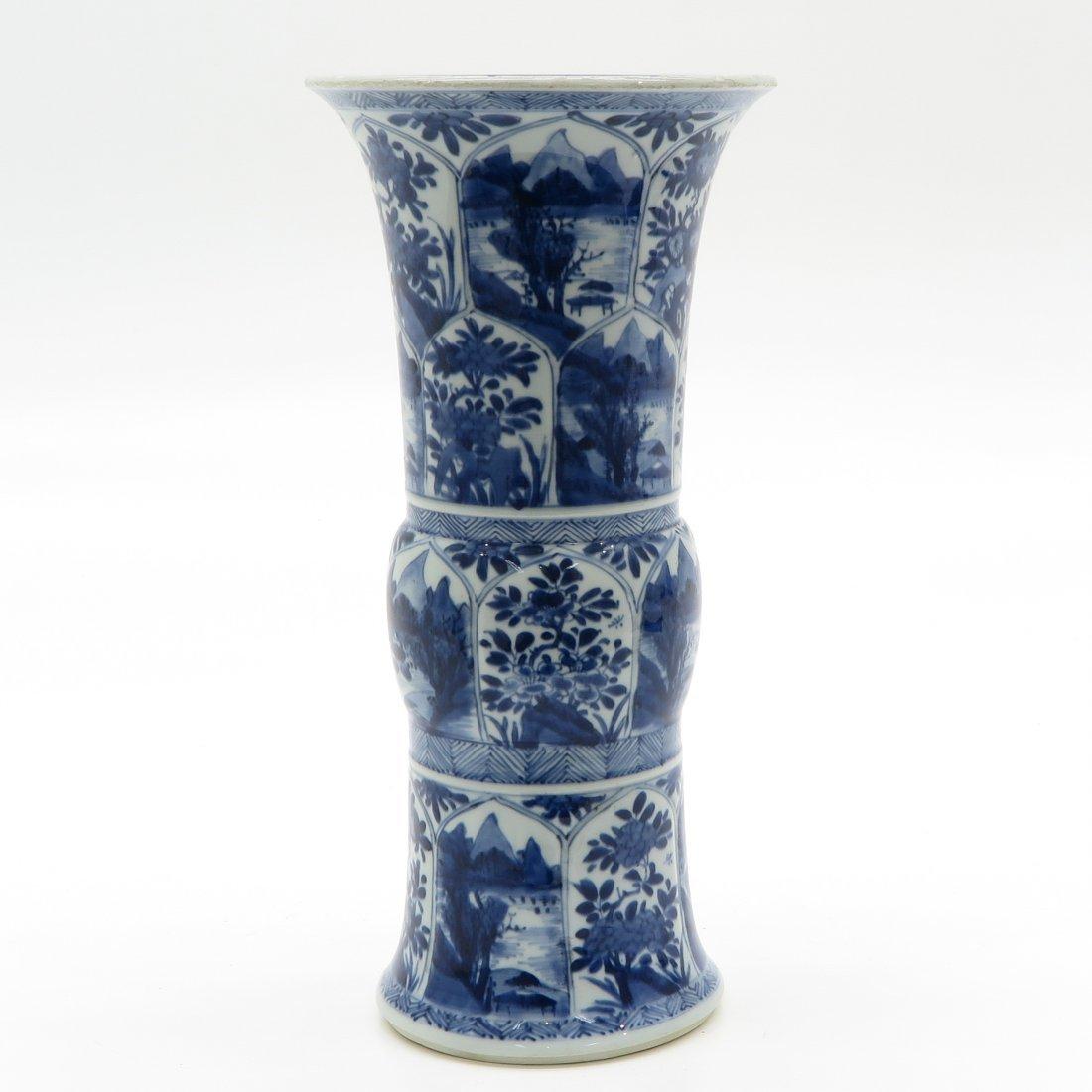 China Porcelain Kangxi Period Vase - 3
