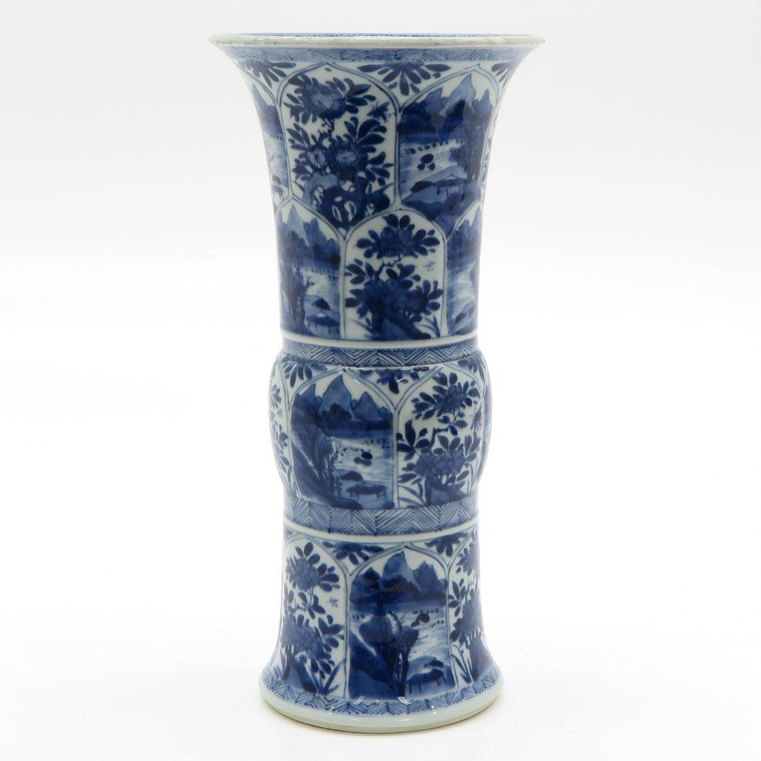 China Porcelain Kangxi Period Vase - 4