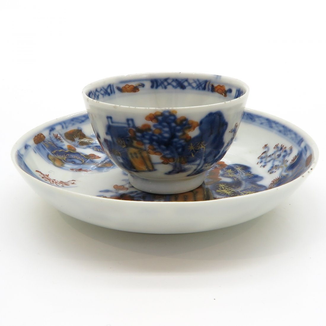 18th Century China Porcelain Cup and Saucer