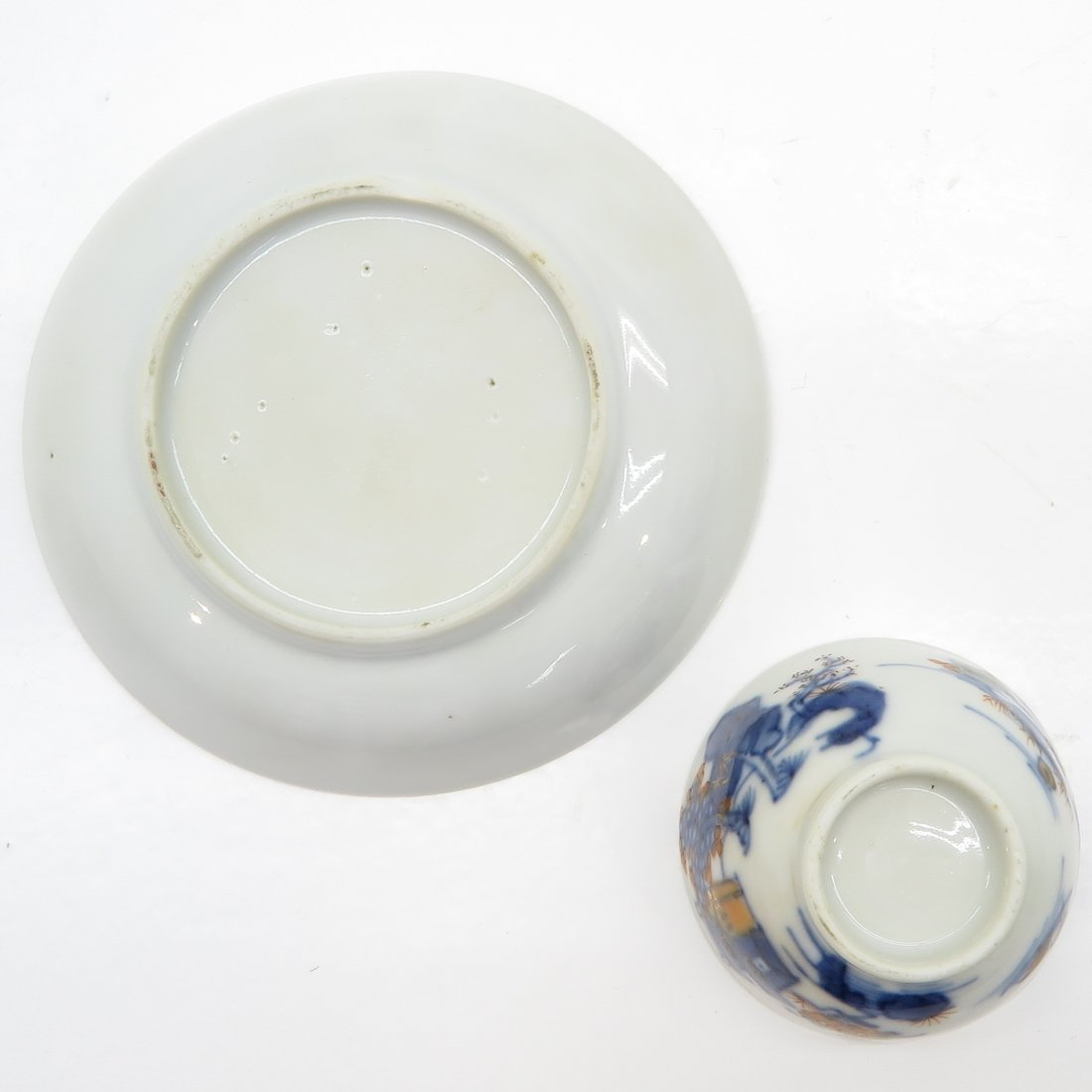 18th Century China Porcelain Cup and Saucer - 6