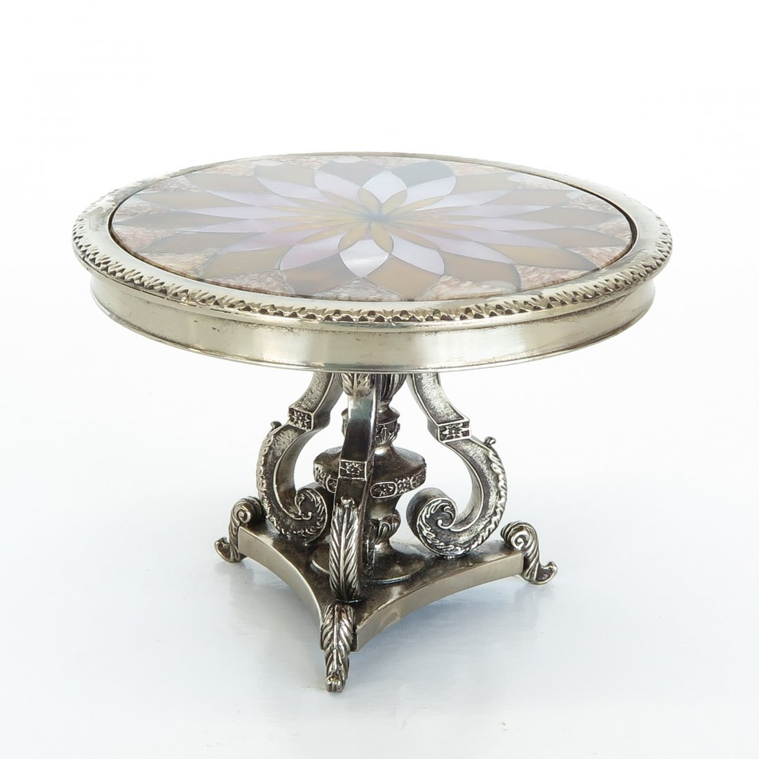 Miniature Pietra Dura Table