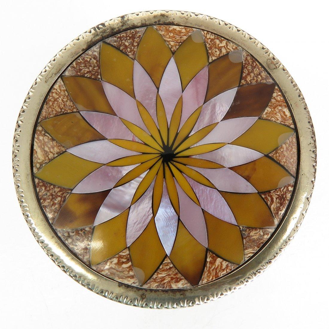 Miniature Pietra Dura Table - 3