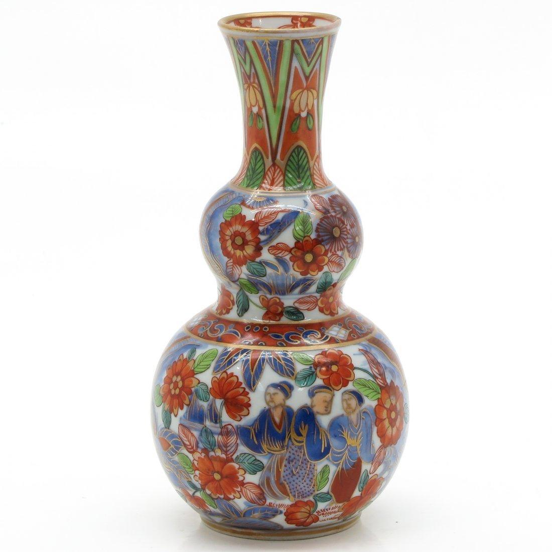 China Porcelain Double Gourd Vase