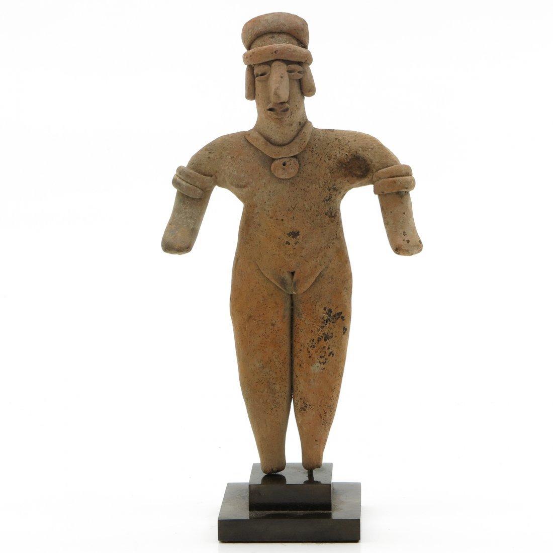 Western Mexico Pre-Columbian Flat Sculpture