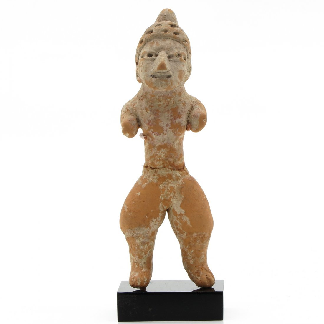 Standing Female Mexican Panuco III Huaxteken Sculpture