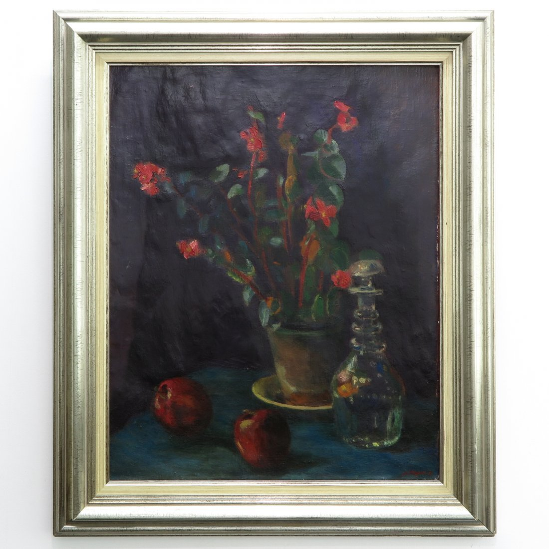 Signed Jan Wiegers Oil on Canvas