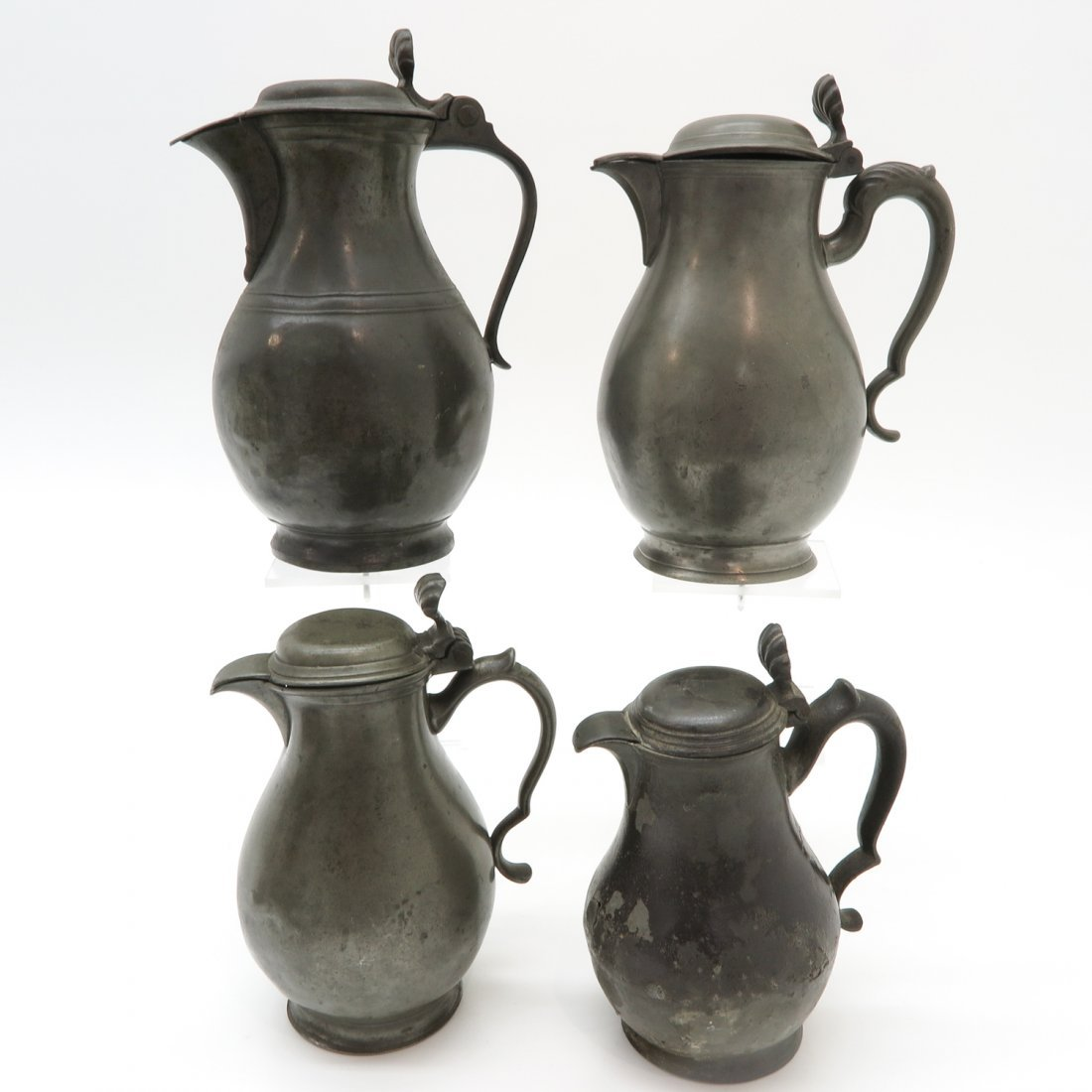 Lot of 18th / 19th Century Pewter Items