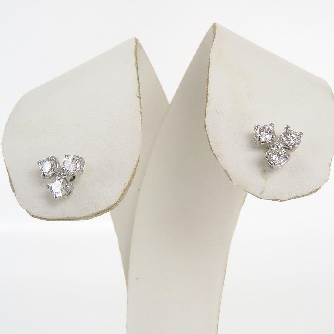 Diamond Earrings of Approximately 0.60 CTW