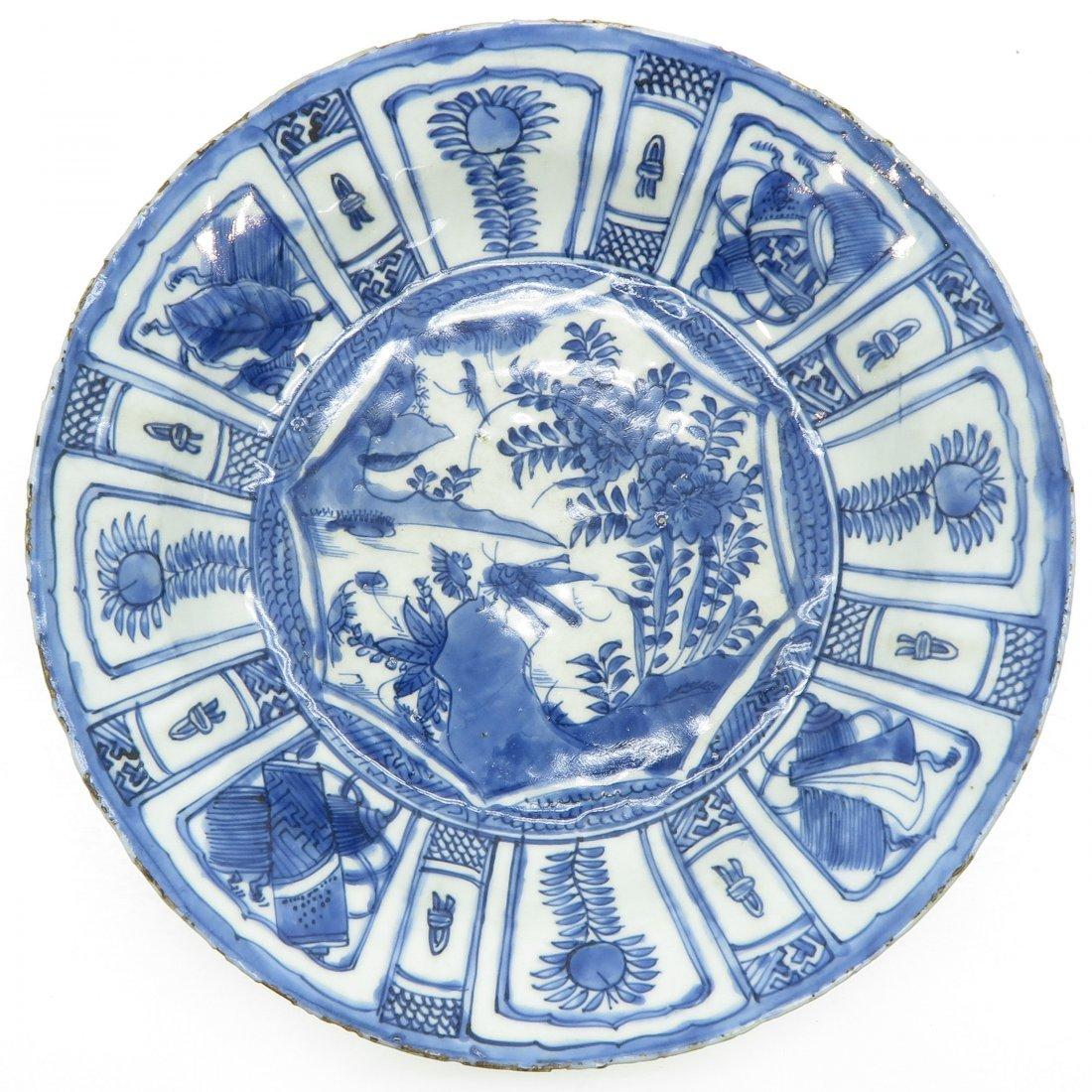 China Porcelain Wanli Period Plate