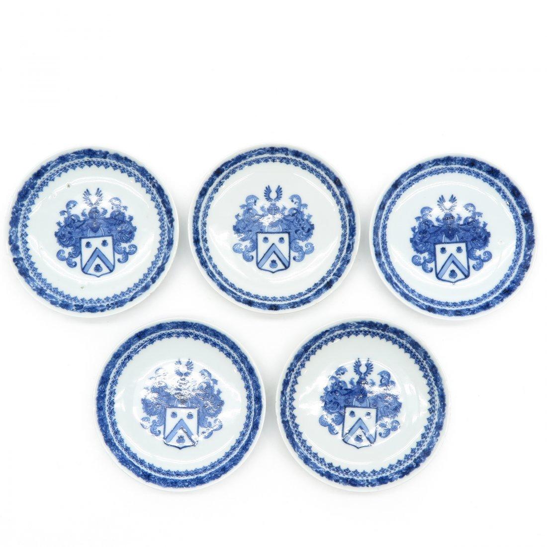 Lot of 18th Century Chine De Commande Plates