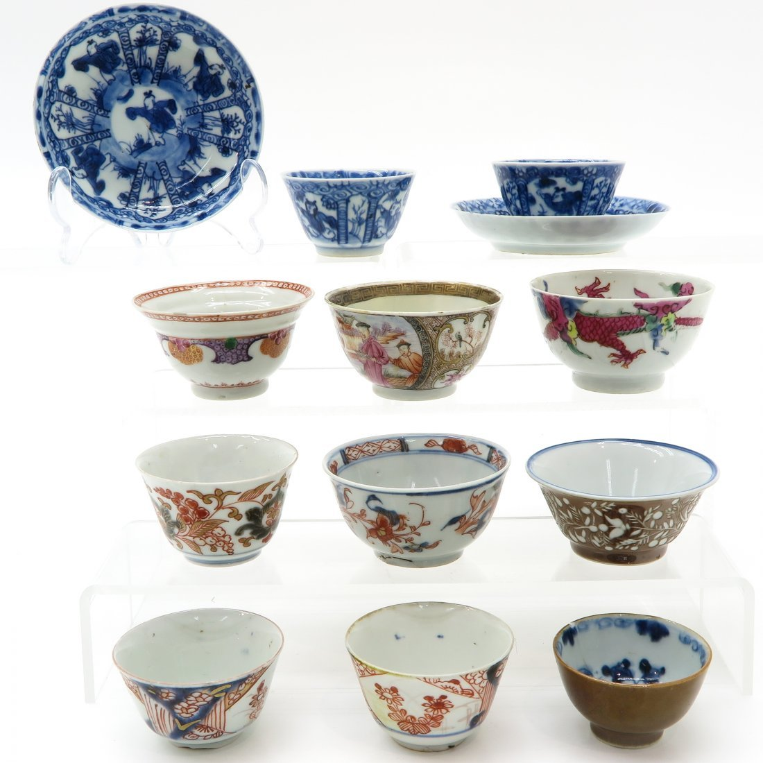 Diverse Lot of 18th Century China Porcelain