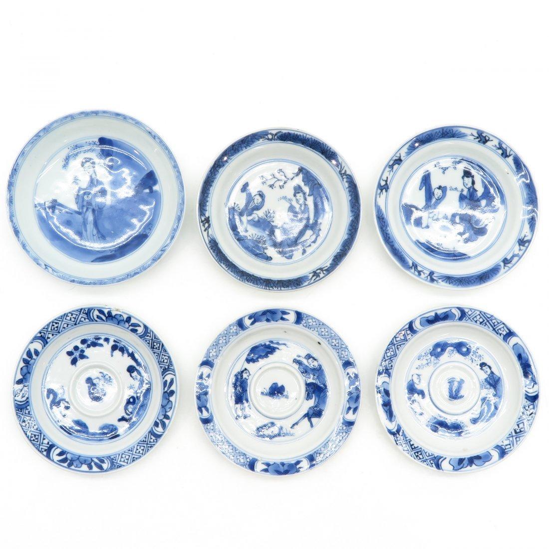 Lot of 6 China Porcelain Plates