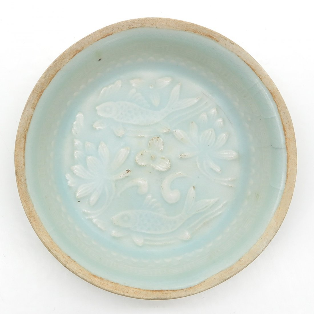 China Porcelain Song Dynasty Celadon Decor Dish