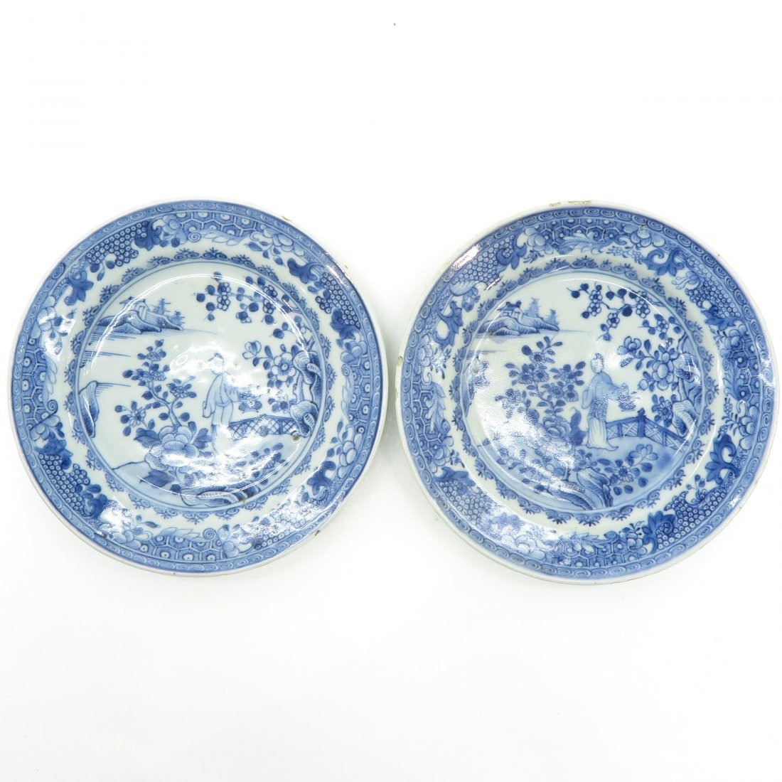 Lot of 18th Century China Porcelain Plates